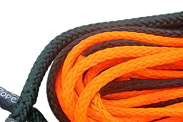 bubba rope synthetic winch rope weave