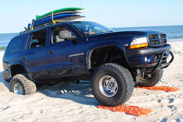 escaper buddy traction mats stuck on beach