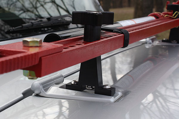 hi lift jack hood mount detail
