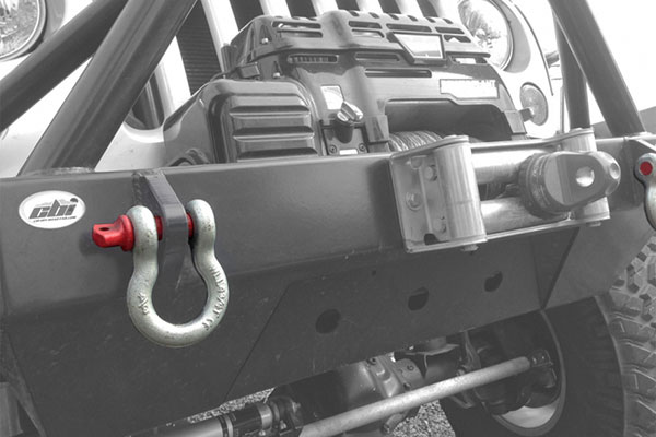 icon d ring shackles installed