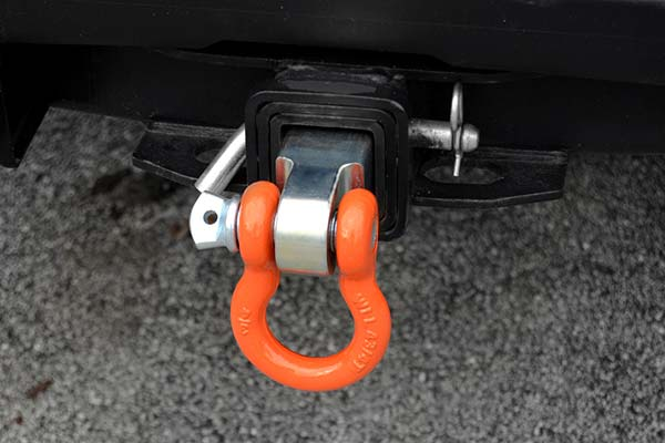 mile marker receiver hitch d ring installed