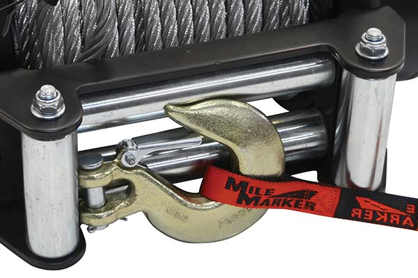 mile marker sec18 es waterproof electric winch detail 2