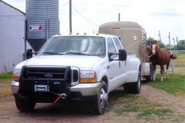 ramsey patriot 9500 related trailer horses