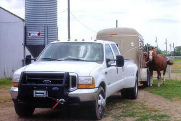 ramsey re 8000 related trailer horses