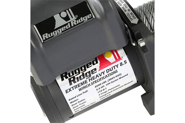 rugged ridge spartacus 8500 lb winch motor