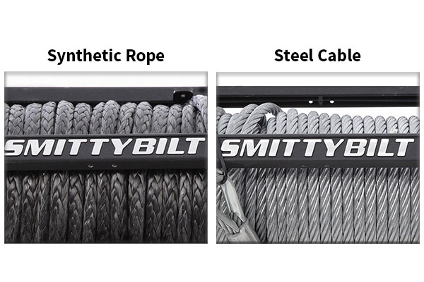 smittybilt steel and rope