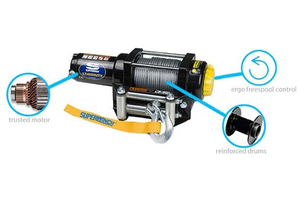 superwinch lt4000 winch features