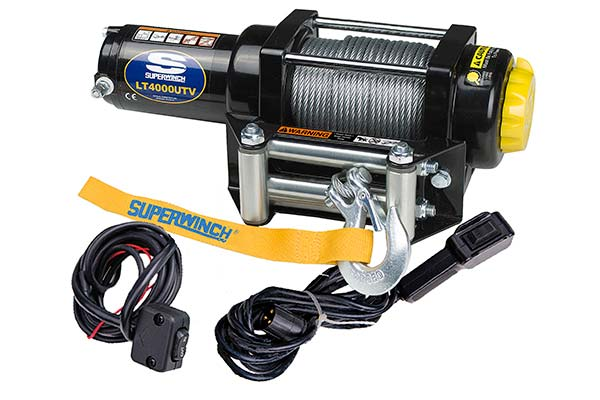 superwinch lt4000 winch with controllers