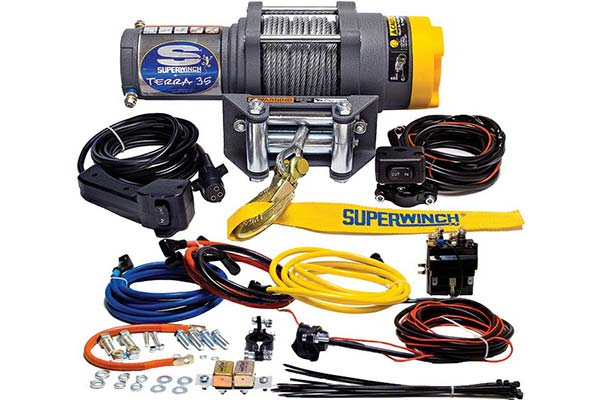 superwinch terra 35 winch with everything