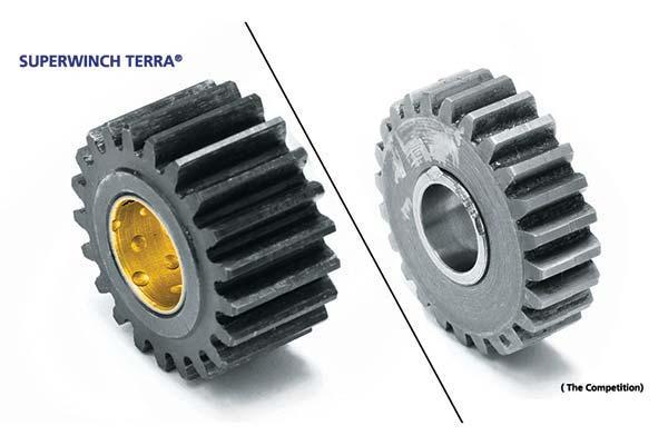 Superwinch Terra 45 Winch - 4500 Lb Winch