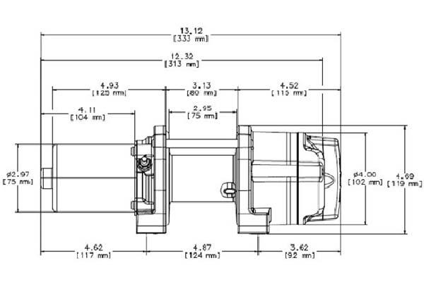 warn provantage 2500 winch - synthetic or steel - free ... warn 77506 model wiring diagram