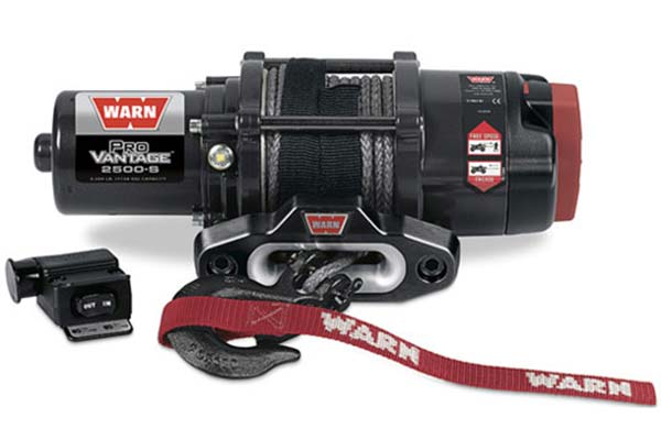 warn provantage 2500 winch synthetic rope