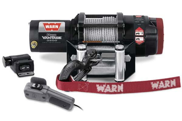 warn provantage 3500 winch steel cable
