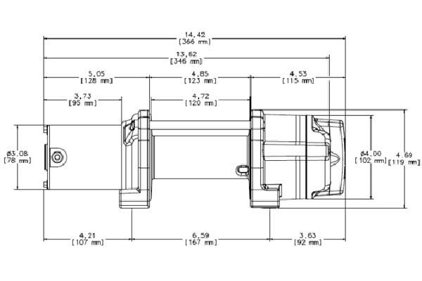 warn 77506 model wiring diagram warn provantage 4500 winch - synthetic or steel - free ... warn 12000 winch wiring diagram #12