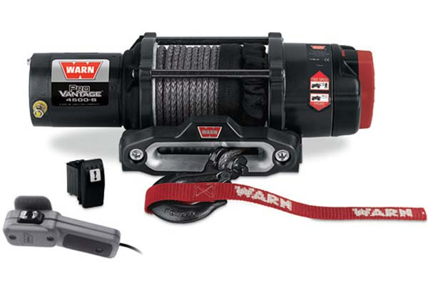 warn provantage 4500 winch synthetic rope