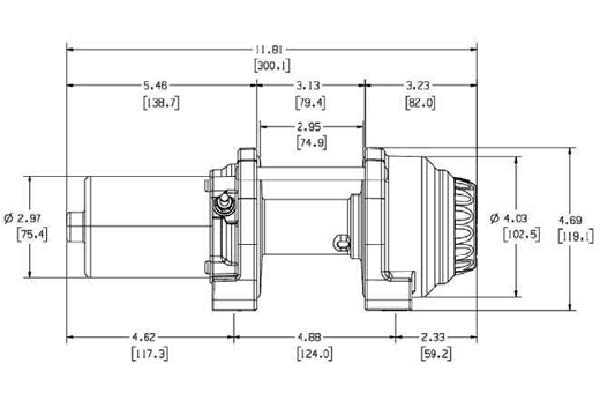 warn vantage 2000 winch diagram