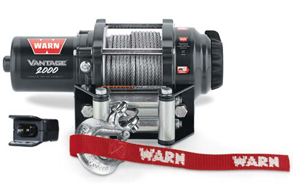 warn vantage 2000 winch steel cable