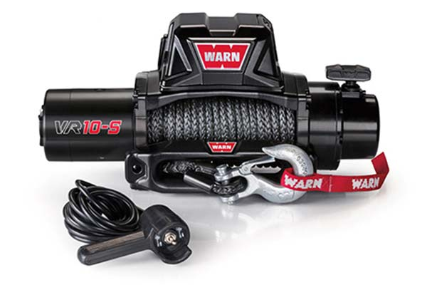 warn vr10 winch synthetic rope