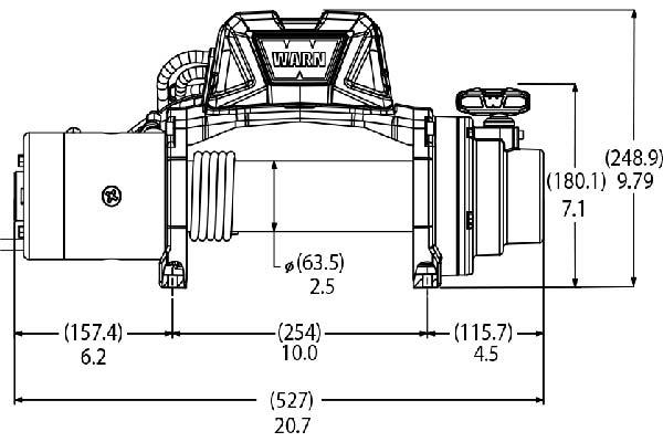warn vr8 winch diagram