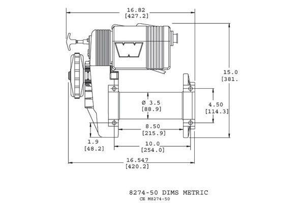 Warn    M827450     Warn       Winches        Warn    38631