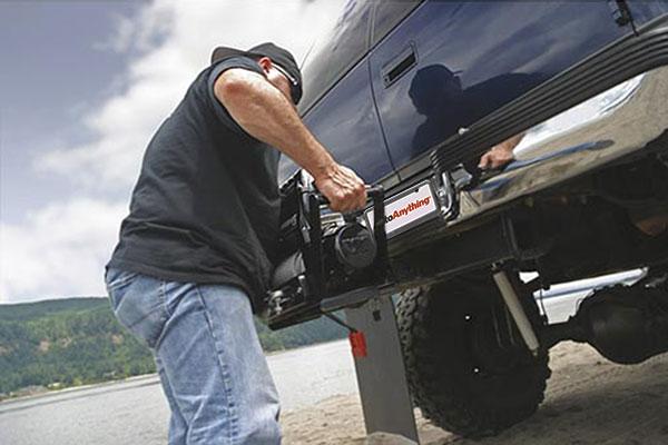 warn zeon 10 multi mount portable winch mounting system