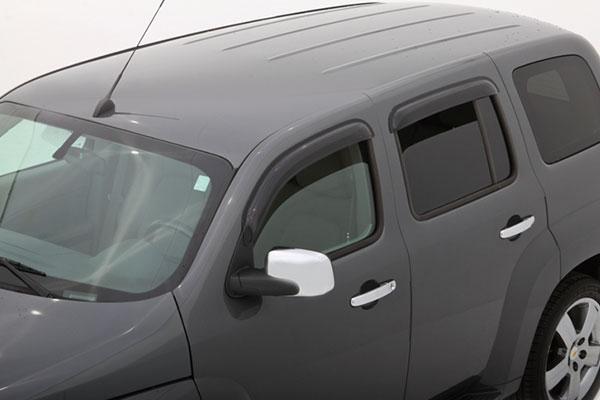 avs ventvisor 94318 on vehicle