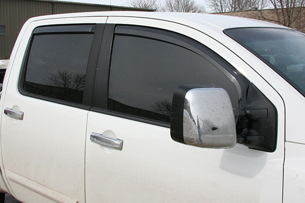 putco element tinted window visors nissan