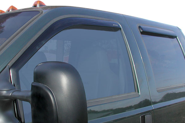 stampede tapeonz sidewind deflectors clear
