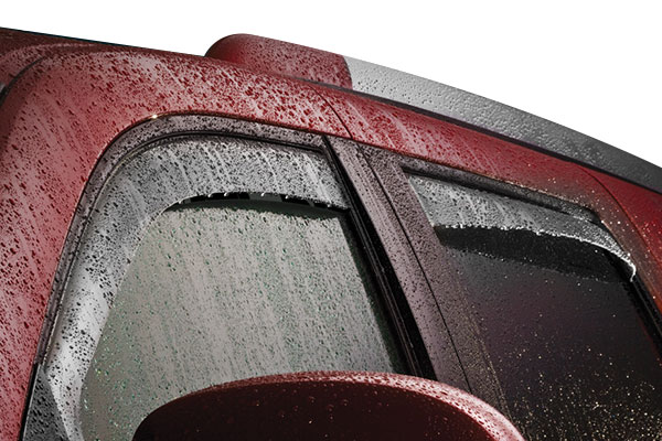 weathertech side window deflector rain
