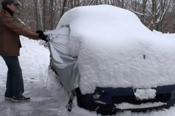 covercraft snow shield pull