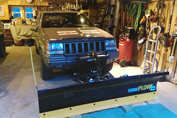 8518 homeplow power angling snowplow 1996 jeep cherokee