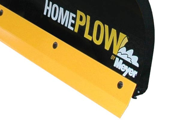 homeplow full hydraulic power angling snow plows blade detail