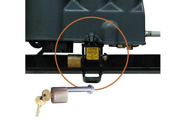homeplow full hydraulic power angling snow plows lock