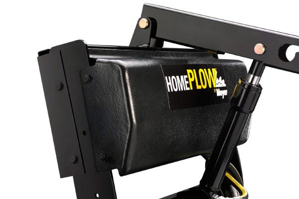 homeplow full hydraulic power angling snow plows molded cover