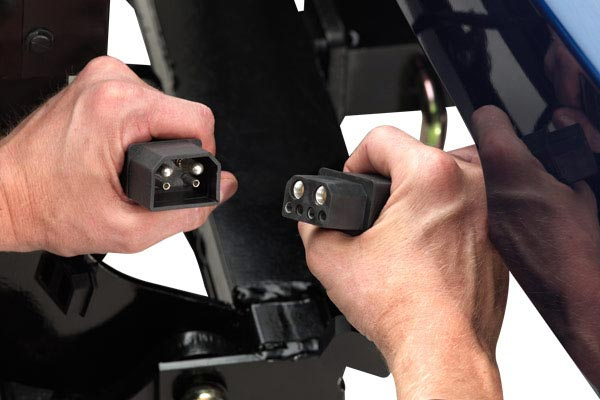 homeplow wireless auto angling snow plows  hitch connection