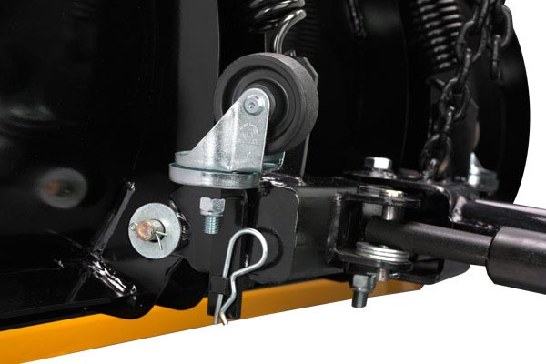 homeplow wireless auto angling snow plows  mounting wheel up