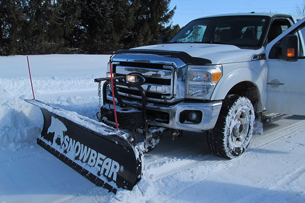 snowbear hydraulic snow plow lifestyle