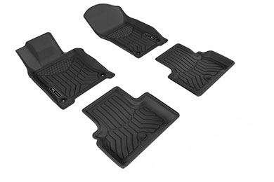3d maxpider maxtrac front and 2nd row floor mats sample