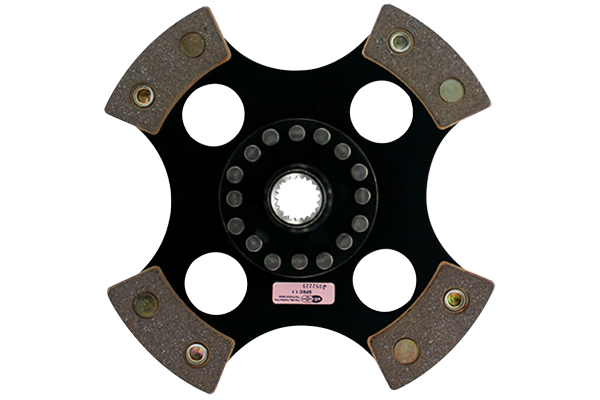 act race clutch discs 4 pad rigid race disc sample