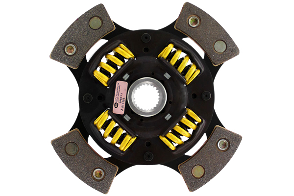 act race clutch discs 4 pad sprung race disc sample