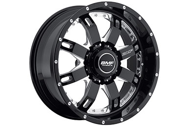bmf repr death metal black 8 lug sample