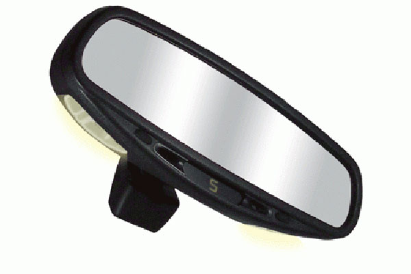 CIPA Auto-Dimming Rear View Mirrors 36300 Mirror With Compass and Map Lights