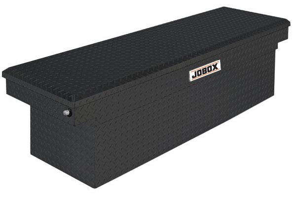 JOBOX Aluminum Single Lid Super Deep Crossover Toolbox PAC1585002 Delta Pro Aluminum Single Lid Super Deep Crossover 3304-2379420