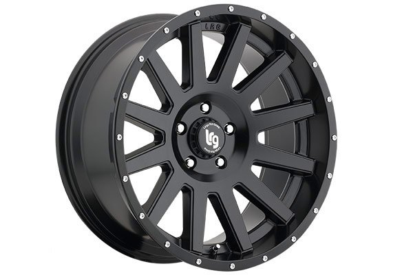 lrg rims lrg107 wheels satin black sample
