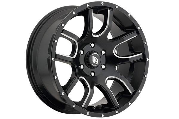 lrg rims lrg108 wheels satin black sample