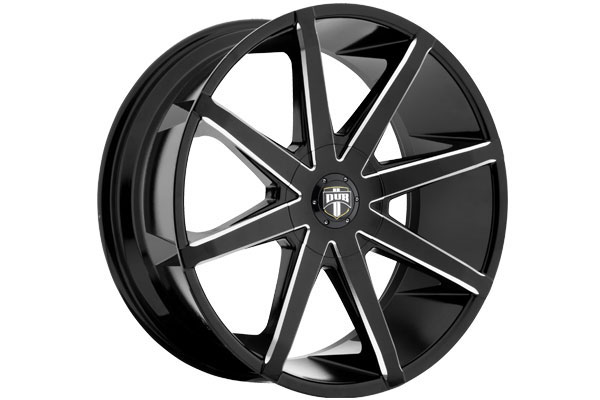 dub push wheels black milled sample