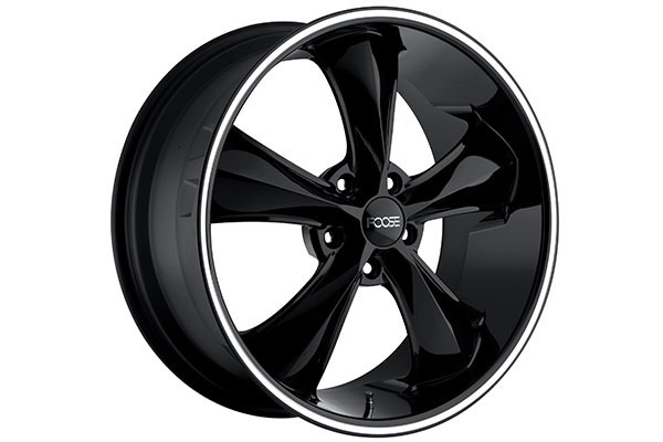 foose legend wheels black milled 5 sample