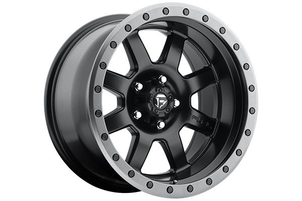 fuel trophy wheels matte black sample