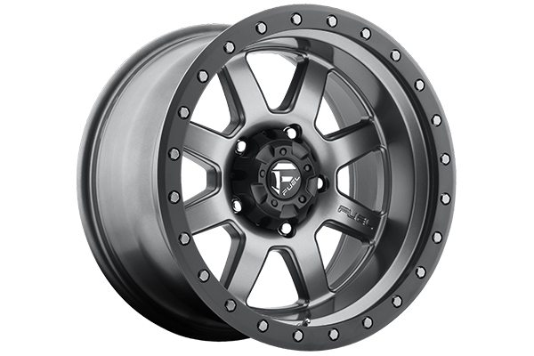 fuel trophy wheels matte gunmetal sample