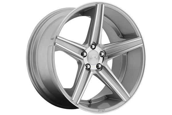 niche apex wheels silver machined sample